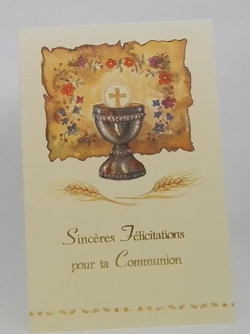 Carte pour la Communion 004