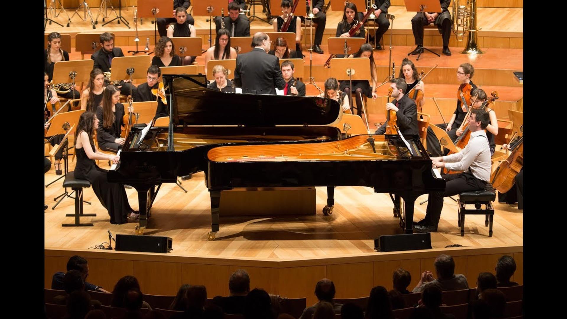 F. Poulenc 2 pianos Concerto
