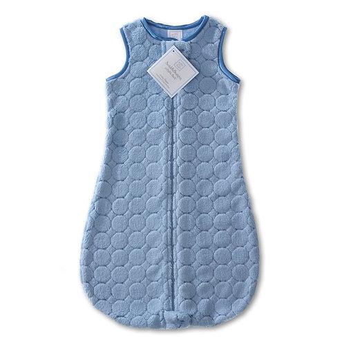 Saco para dormir acolchado celeste (6-12 meses)