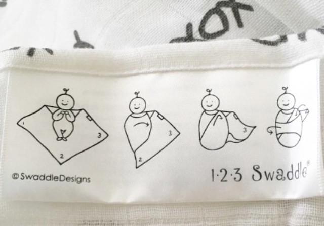 Instrucciones en las etiquetas de todas las mantas