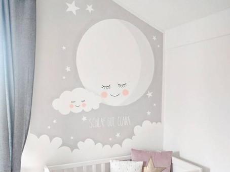 Cómo pintar la pared de su habitación? Te damos algunas ideas