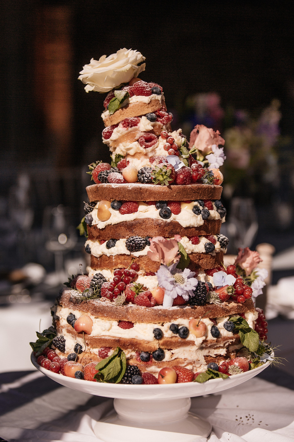 The show-stopping cake for 120 people