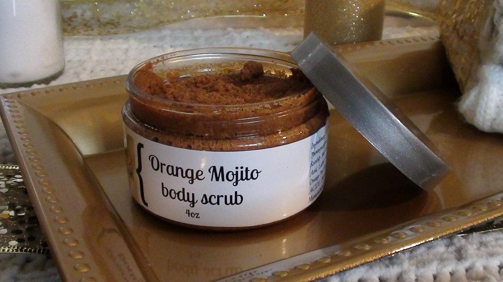 Orange Mojito body scrub