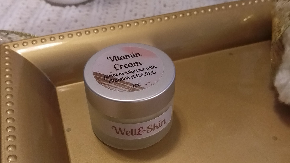 Vitamin Cream facial moisturizer