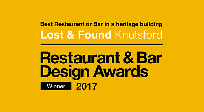 Restaurant & Bar Award Winner!
