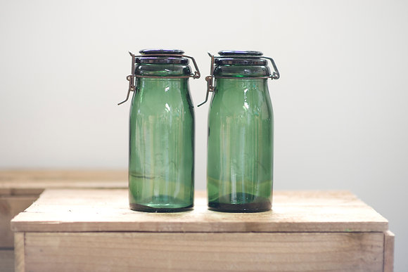 Green La Lorraine Jar