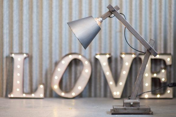 Metal Vintage Style Desk Lamp