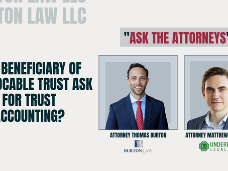 Can Beneficiary of Irrevocable Trust Ask for Trust Accounting?
