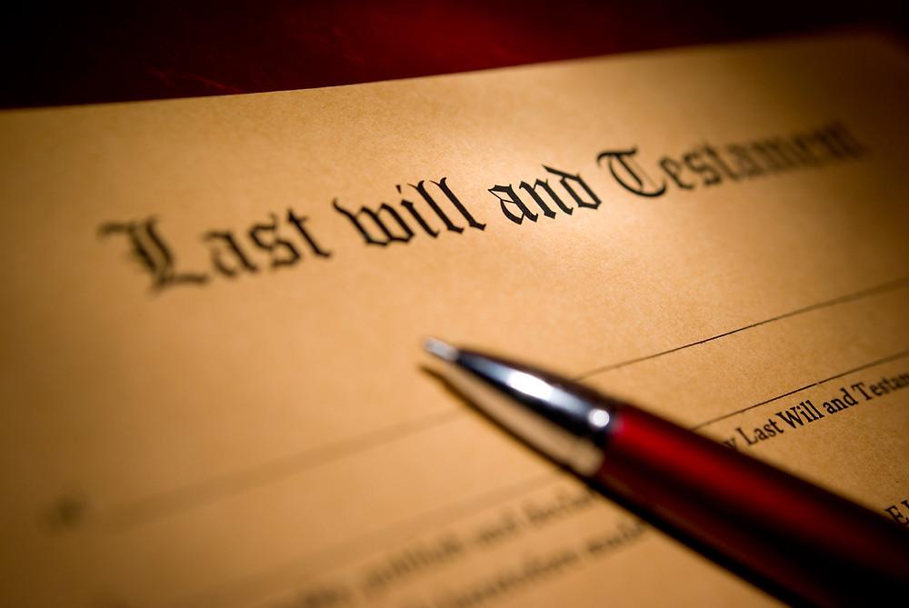 Last Will and Testament | Wisconsin | Minnesota