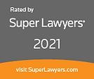 Super Lawyers 2021 Selection Badge for Attorney Thomas B. Burton