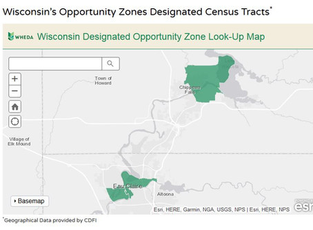 Opportunity Zones in the Chippewa Valley