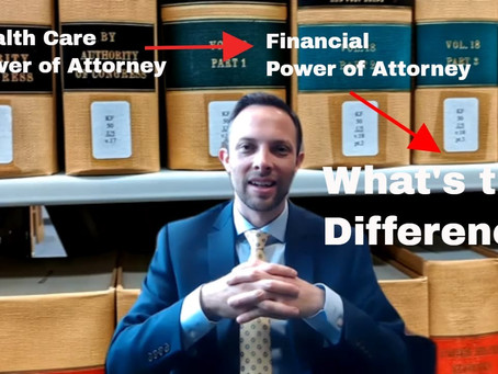 What's the Difference Between a Health Care Power of Attorney and Financial Power of Attorney?