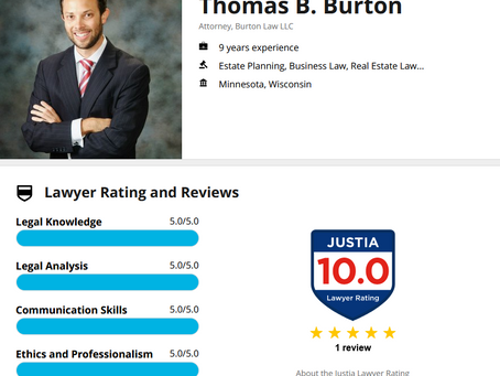 Attorney Thomas B. Burton's Profile on Justia.com