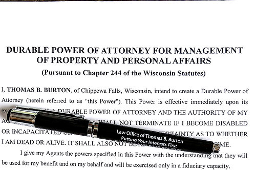 Power of Attorney with Medicaid Planning Powers (Financial)