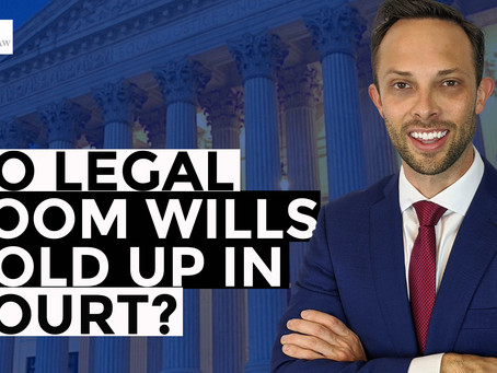 Do Legal Zoom Wills Hold Up in Court?