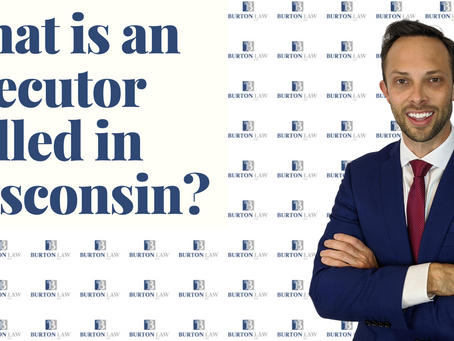What is an Executor Called in Wisconsin?
