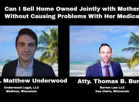 Can I Sell Home Owned Jointly with Mother Without Causing Problems With Her Medicaid?