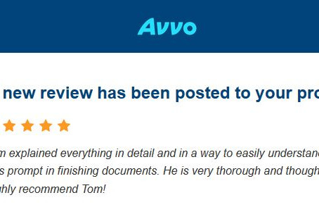 5 Star Review for Law Office of Thomas B. Burton