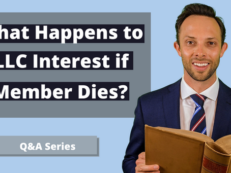 What Happens to LLC Interest if Member Dies in Wisconsin?