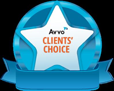 Clients' Choice Award from Avvo