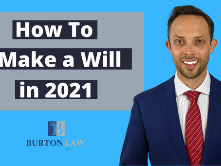 How to Make a Will in 2021