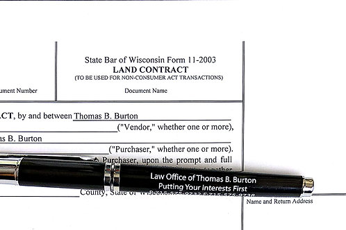 Wisconsin Land Contract