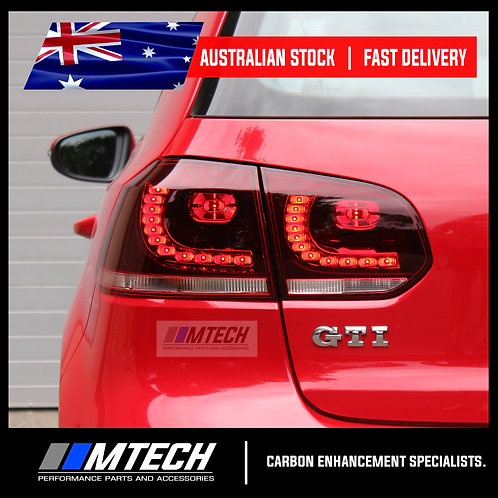 VW Golf R MK6 Style LED Tail Light Set