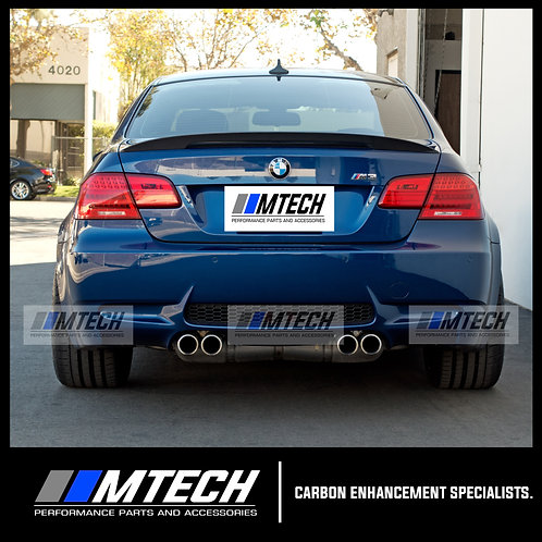 MTECH BMW E92 COUPE PERFORMANCE STYLE CARBON FIBRE REAR SPOILER