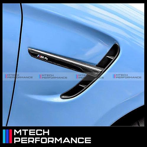 MTECH CARBON FIBRE FENDER GRILL FOR BMW F8X M3 M4
