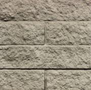 Block Cast 16x4 Split faced pattern