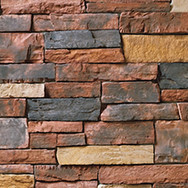 Country Ledgestone Red Rock GT Fit