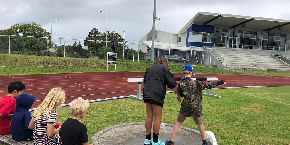 Halberg Games Pre-Training - Athletics