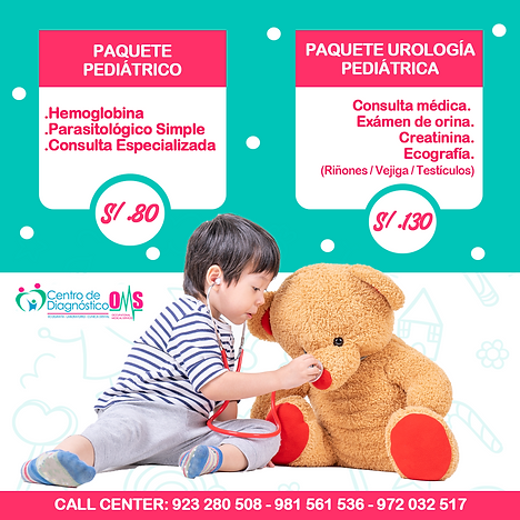 PAQUETE PEDIATRICO & UROLOGIA PEDIATRICA