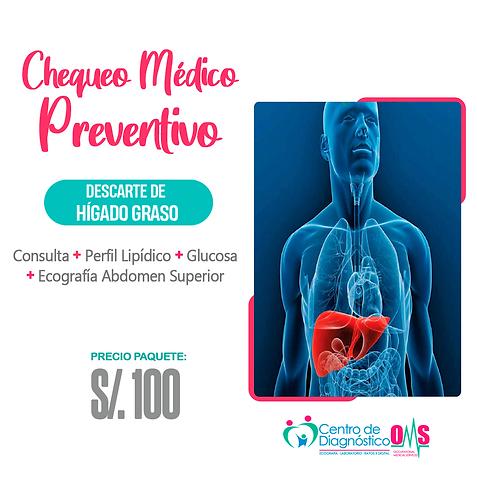 CHEQUEO MEDICO PREVENTIVO - DESCARTE HIG