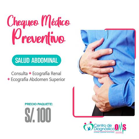 CHEQUEO MEDICO PREVENTIVO - SALUD ABDOMI