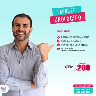 PAQUETE UROLÓGICO