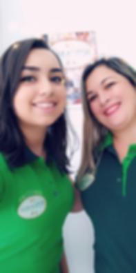 Farmaceutica Katia e Consultora Larissa