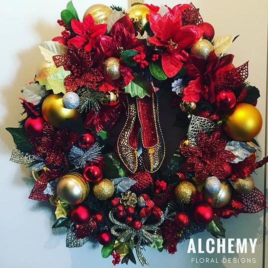 High Heel Wreaths available now! #alchem