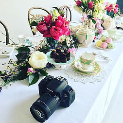 We love dressing tables for photo shoots