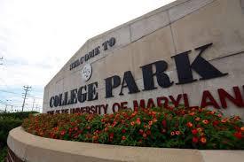 University of Maryland Campus Sign