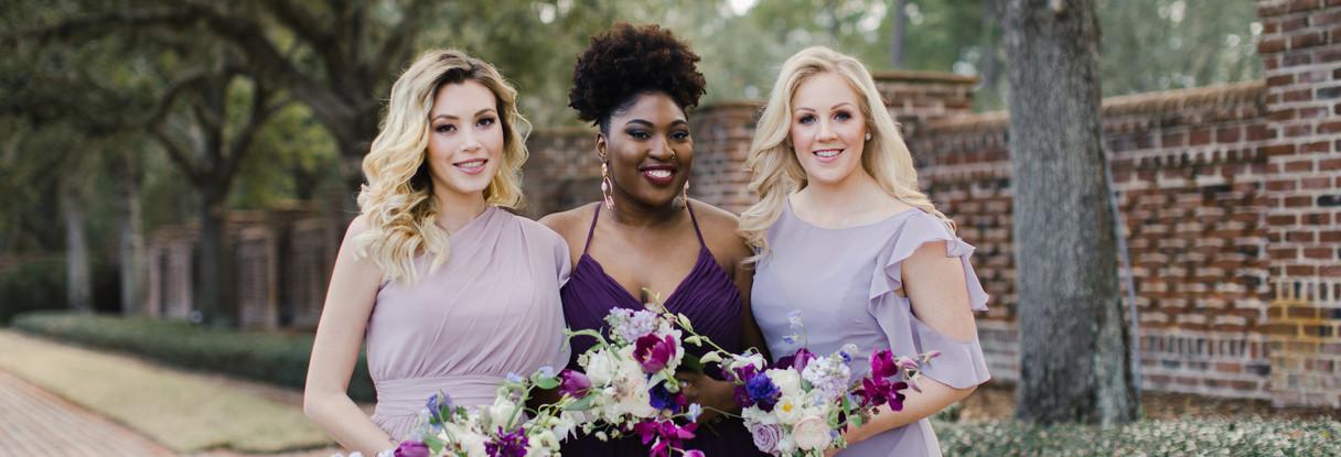 Various bridemaids dresses