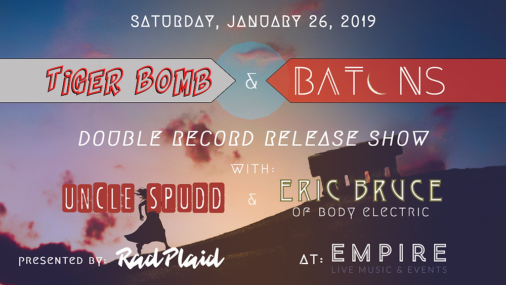 Tiger Bome & Batons Double Record Release Show