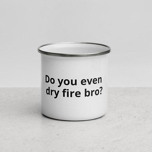 Dry Fire Enamel Mug