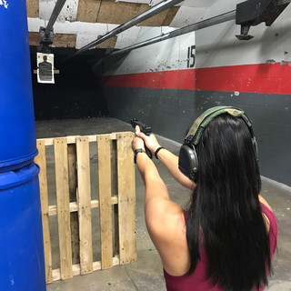 Seated Shooting