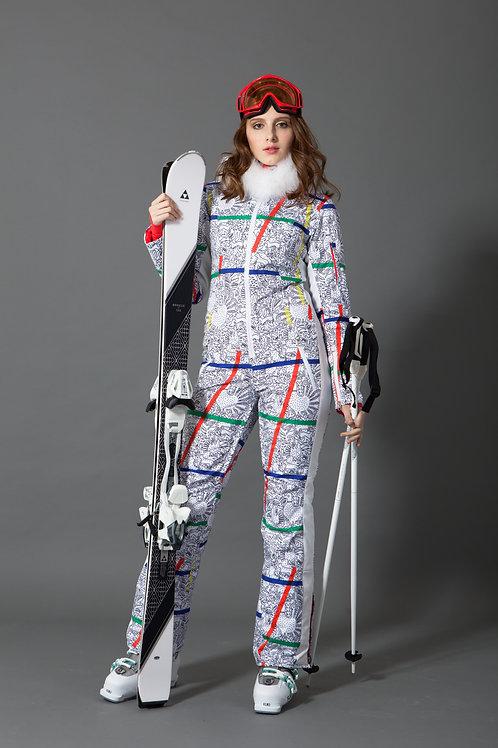 Комбинезон женский с мехом