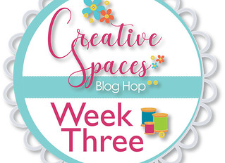 Creative Spaces Blog Hop: Week 3 Organization Tips