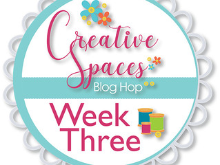 Creative Spaces Blog Hop: Week 3 Organization Tips