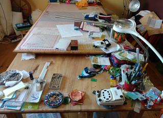 Creative Spaces Blog Hop: Week 1 Studio Clean Up