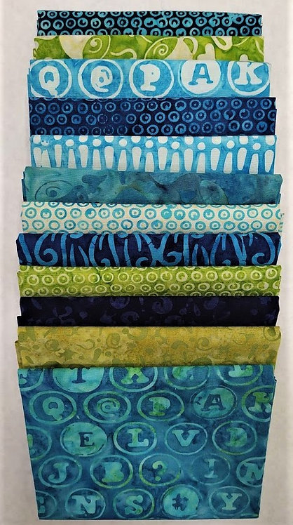 Just My Type Fat Quarter Stack