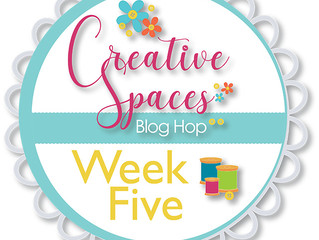 Creative Spaces Blog Hop: Week 5 Threads and Embellishments